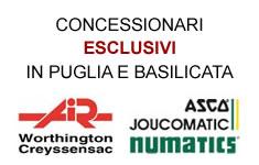 Concessionari esclusivi Asco Numatics e Worthington  in Puglia e Basilicata